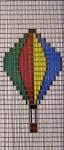 030             vliegengordijn luchtballon  Liso® 92x2198 Kant-en-Klaar