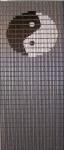 038             vliegengordijn yin yang  Liso® 92x209 Kant-en-Klaar
