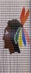 050             vliegengordijn indiaan Liso® 92x198 Kant-en-Klaar