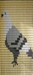 054             vliegengordijn duif Liso® 92x209 Kant-en-Klaar