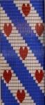 056             vliegengordijn friesche flag  Liso® 92x209 Kant-en-Klaar