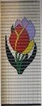 064             vliegengordijn tulpen Liso® 92x209 Kant-en-Klaar
