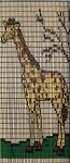 069             vliegengordijn giraffe Liso® 92x209 Kant-en-Klaar