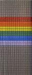 109            vliegengordijn regenboog vlag Liso 92x209 Kant-en-Klaar