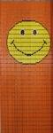 110              vliegengordijn smily Liso® 92x209 Kant-en-Klaar
