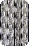 100x230 Sofia ®  Transparante zware slierten Kant-en-Klaar